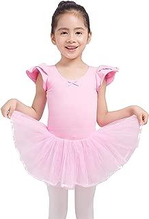 Dancina Girls Skirted Leotard Tutu Ballet Dance Dress Cotton Front Lined