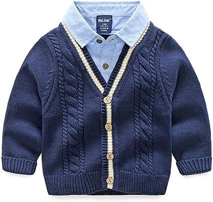 PUJIANGxian suéter de Manga Larga con Bolsillos para Camisa ...
