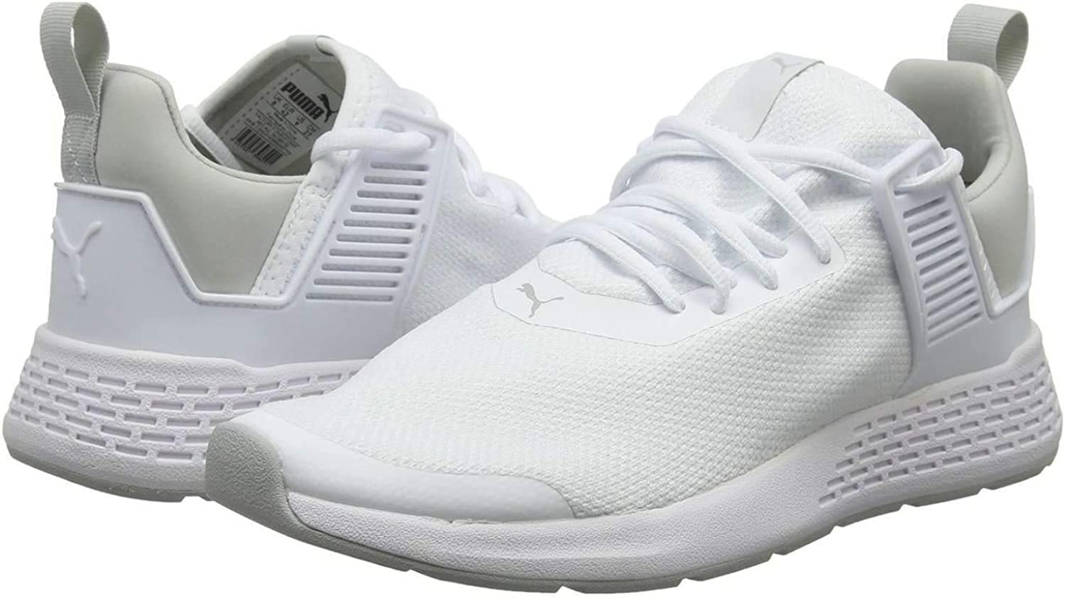 PUMA Womens Insurge Mesh Low Top Lace Up Running Sneaker