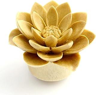 WildKlass Jewelry White Water Lily Natural Organic Plug