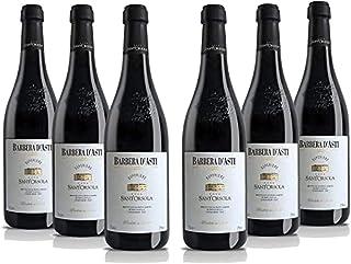 Sant'Orsola - Vino Rosso -Barbera d'Asti D.O.C.G. Superiore - Pacco da 6 x 750 ml