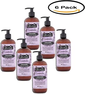 PACK OF 6 - Renpure Solutions Lavender Volume / Body Cleansing Conditioner, 16 fl oz