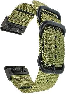 YOOSIDE for Fenix 6S/Fenix 5S Watch Band, 20mm NOTA Woven Durable Nylon Quickfit Wristband Strap for Garmin Fenix 6S Pro/S...