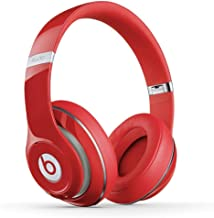Beats Studio 2 Wireless B0501 Over-Ear Headphones (MH8K2AM/A) Red - (Renewed)