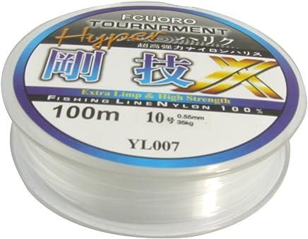 TOOGOO(R) 10# ligne/fil de peche Diametre de 0.55mm 100M 35Kg 77.1lb