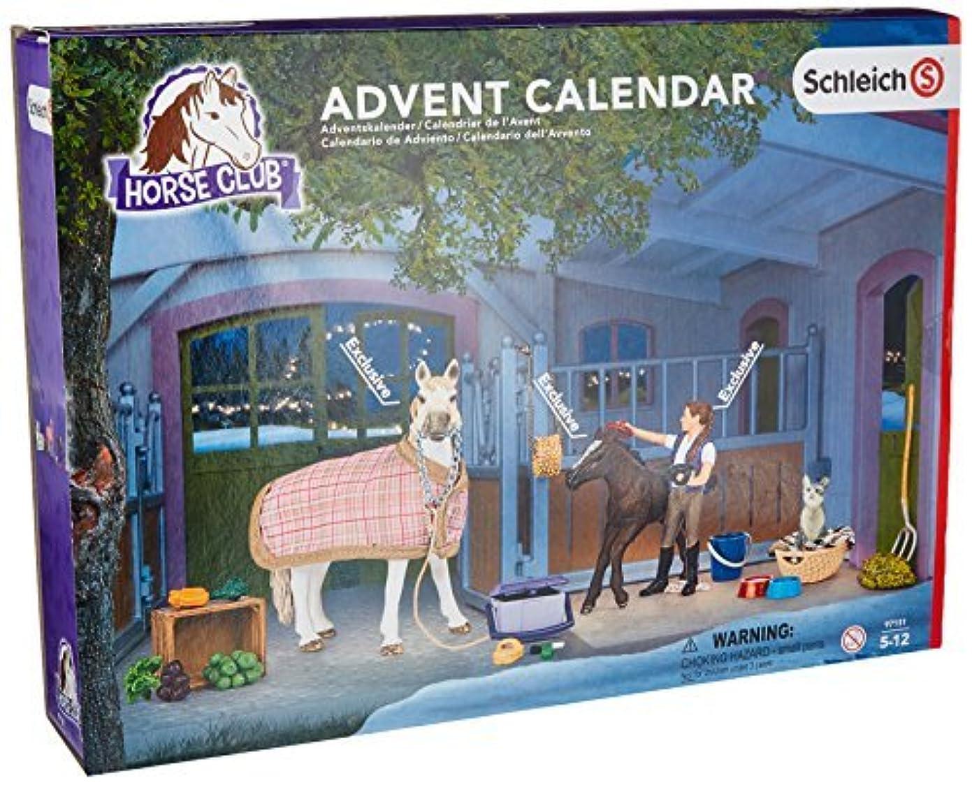 確認する反対に短くするSchleich North America Horses Advent Calendar 2016 Playset [Floral] [並行輸入品]