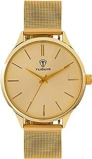 Relógio Feminino Tuguir Analógico TG111 - Dourado