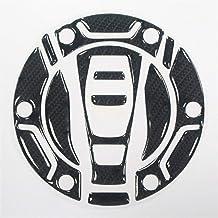 3D de Fibra de Carbono de la Motocicleta tapón del depósito de Combustible Adhesivo Protector tapón del depósito for BMW R1200GS 14-18 K1600GTL EX R1200GS ADV R1200RT (Color : 1)