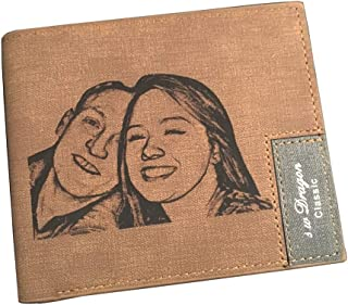 father's day wallet with picture