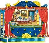 Goki 51786 - Teatro de Marionetas de Dedos (5 Decorados)