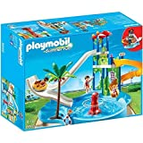 Playmobil - Jeu de Construction - Summer Fun - Parc Aquatique avec toboggans géants - 6669 - 143 pièces