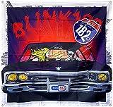 Astany Blink 182 Flagge Kalifornien Tapisserie Panorama