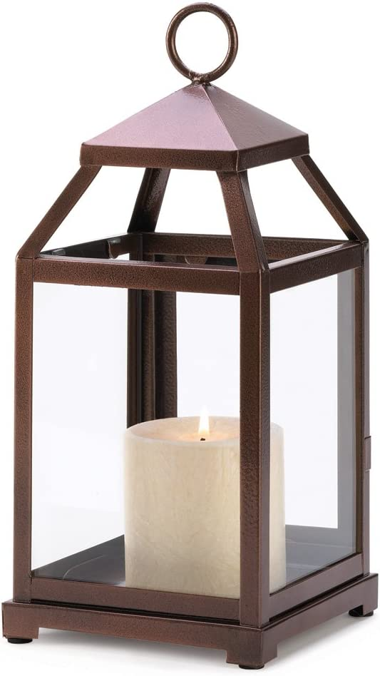 10 Max 73% OFF Wholesale Bronze OFFicial Contemporary Lantern Candle Centerpi Wedding