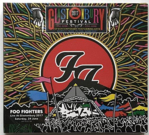 FOO FIGHTERS Glastonbury Festival LIVE DOPPEL CD in digipak [Audio CD]