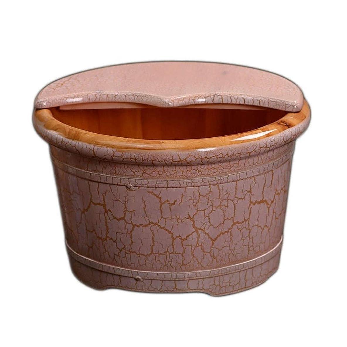 権威加害者マイコン木製の足浴槽、木製フットバス浴槽、家庭用洗面台