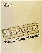 1984 Ford Ranger Repair Shop Manual Original