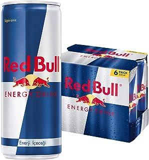 Red Bull Enerji İçeceği, 250 ml (6'lı Paket, 6x250 ml)