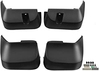 Set of 4 Front and Rear Mud Flaps Splash Guards for Subaru Forester 2009-2013
