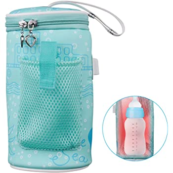 Usb Bottle Insulation Bag Portable Bottle Charging Bottle Warm Cover XU