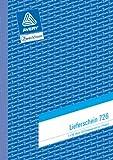 Avery Zweckform 726-5 Lieferschein A5 mit Empfangsschein 2x50 Blatt 5er