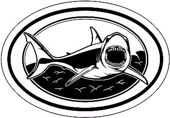 Beach Vacation Souvenir Gift Florida Bumper Sticker WickedGoodz Oval Vinyl Clearwater Beach Bone Fish Decal