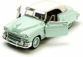 1950 Chevy Bel Air, Green - Motormax Premium American 73268 - 1/24 Scale Diecast Model Car