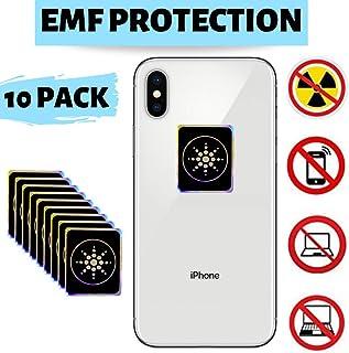 PureGoods EMF Protection Cell Phone for Radiation - Neutralizer Sticker Shield Blocker - Anti EMF for All Electronics Laptops, Tablets, TVs - 10 Pack Bundle Sale!!