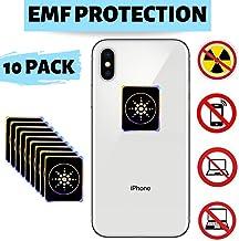 EMF Protection Cell Phone for Radiation - Neutralizer Sticker Shield Blocker - Anti EMF for All Electronics Laptops, Tablets, TVs - 10 Pack Bundle Sale!!