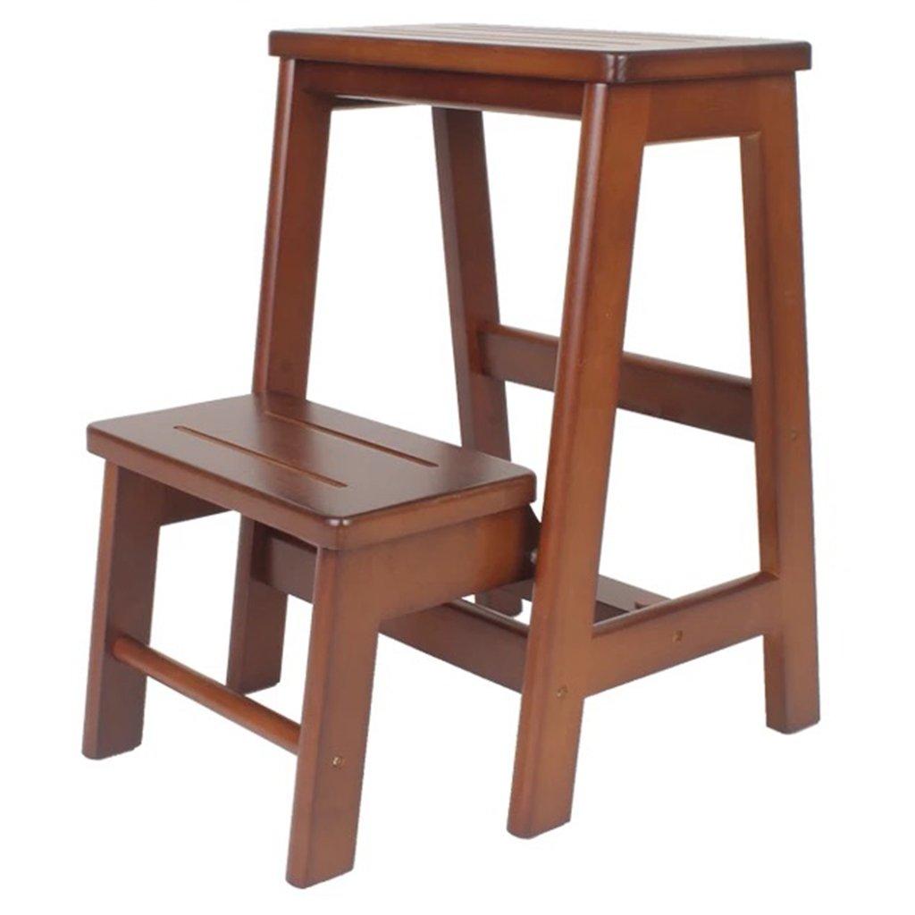 Escalera de madera para niños adultos, baño de la cocina Escalera de baño multiusos: Amazon.es: Bricolaje y herramientas