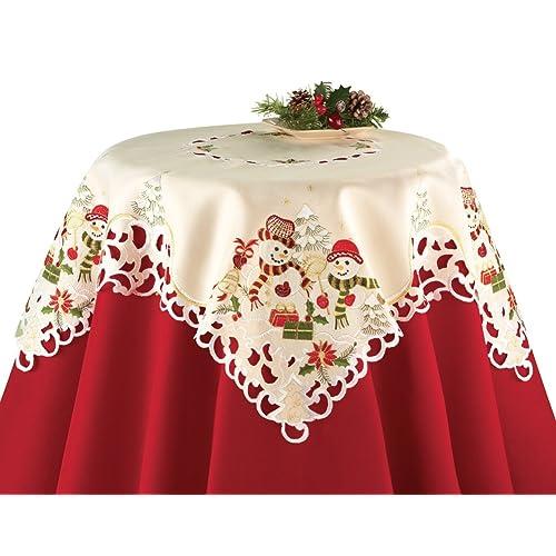 Christmas Snowman Table Decorations Amazon Com