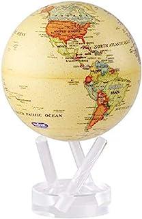 """MOVA Political Map Yellow Globe 4.5"""""""