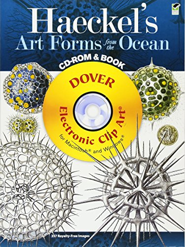 Compare Textbook Prices for Haeckel's Art Forms from the Ocean CD-ROM and Book Dover Electronic Clip Art Illustrated Edition ISBN 9780486991177 by Ernst Haeckel