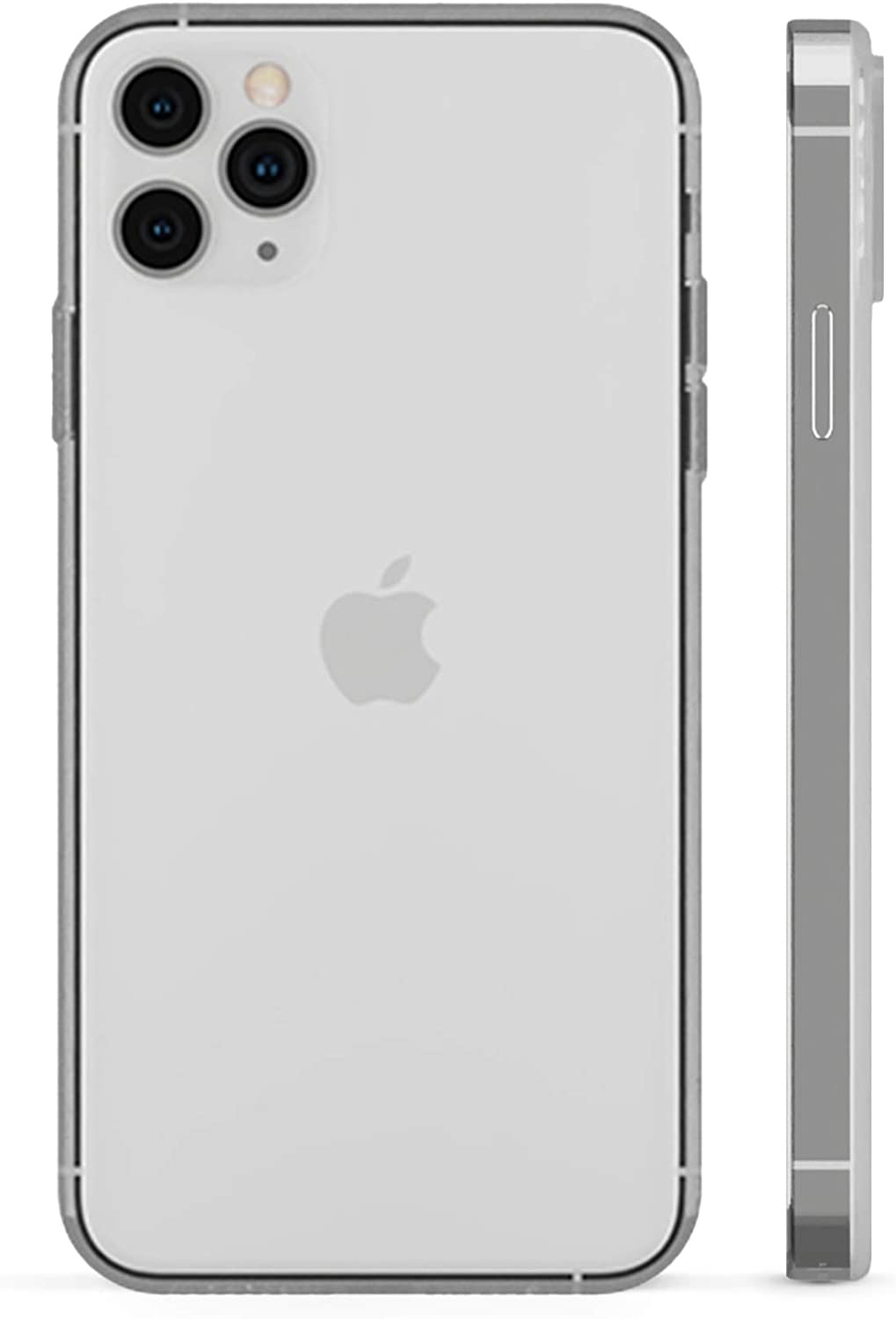 PEEL Ultra Thin iPhone 12 Pro Case, Clear Soft - Minimalist Design | Branding Free | Protects and Showcases Your Apple iPhone 12 Pro
