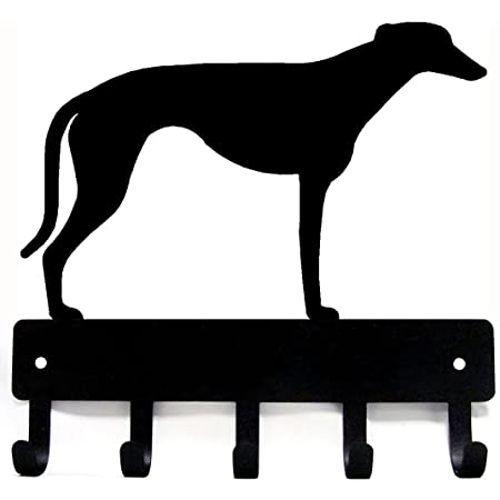 Wall Mounted Greyhound Head Coat Hook Dog Head hook Aluminium Set of 2 pcs .fx