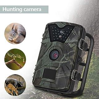Campark Trail Game Cameram 12MP 1080P Cámara de exploración de caza a prueba de agua para la investigación de la vida silvestre con sensor de infrarrojos con visión nocturna activada por movimiento