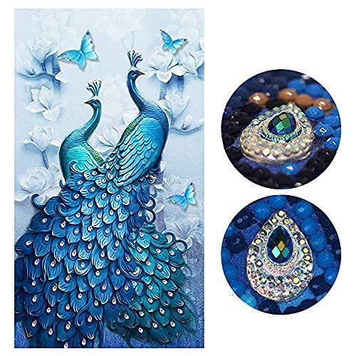 SHUIBIAN 5D Diamant Painting Set Full DIY Crystal Strass Stickerei Painting Diamant Dekoration für Home Wall Décor Büro Dekoration(45 * 80CM)
