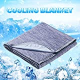Cooling Blanket, LUXEAR Japanese Q-Max 0.4 Cooling Fiber Lightweight Cool Blanket 59 X