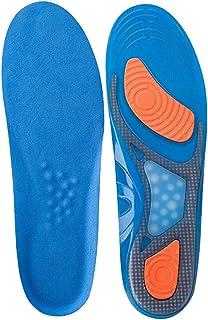 インソール 中敷き ジェルクッションインソール 高密度 衝撃吸収と安定性を両立 革靴 抗菌 防臭 スニーカー ブーツ 靴ケア用品 サイズ調整可能 L(26.5~30.5㎝)