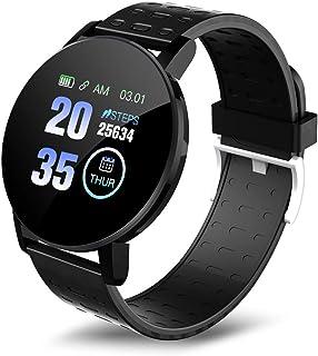 Fesjoy 119 Plus 1.3 in relojes inteligentes monitorización de la frecuencia cardíaca reloj deportivo relojes de pulsera in...
