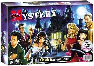 Clue ボードゲーム;·探偵英語カードゲーム、ボードゲーム3-6人クラシックミステリー推理ゲーム