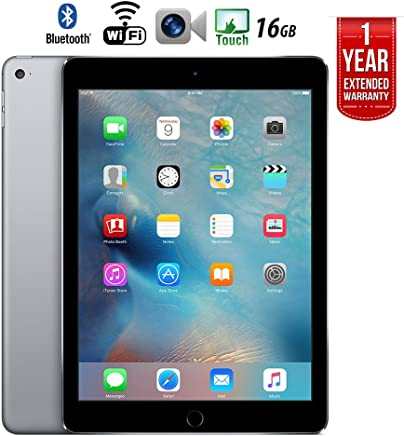 $199 » Apple iPad Air 2 16GB Wifi with 1 Year Extended WARRANTY - (Renewed)