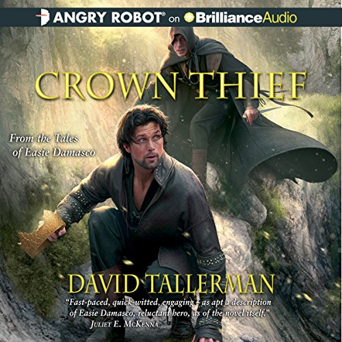 Crown Thief audiobook cover art