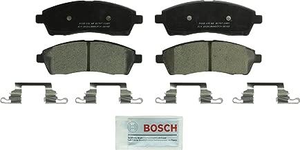 Bosch BC757 QuietCast Premium Ceramic Disc Brake Pad Set For Ford: 2000-2005 Excursion, 1998-1999 F-250, 1999-2004 F-250 Super Duty, 1999-2004 F-350 Super Duty; Rear