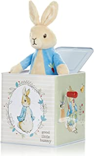 KIDS PREFERRED Beatrix Potter Peter Rabbit Jack-in-The-Box, Multi-Colored, Standard