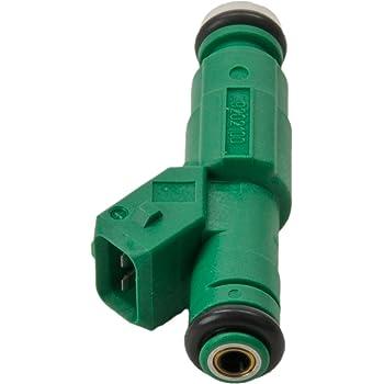 FOLCONROAD 4pcs 42lb EV1 Flow Matched Fuel Injectors 0280155968 High Impedance 440cc Fuel Injectors Fit for Bosch Chevrolet Pontiac Ford TBI LT1 LS1 LS6 Dipuao