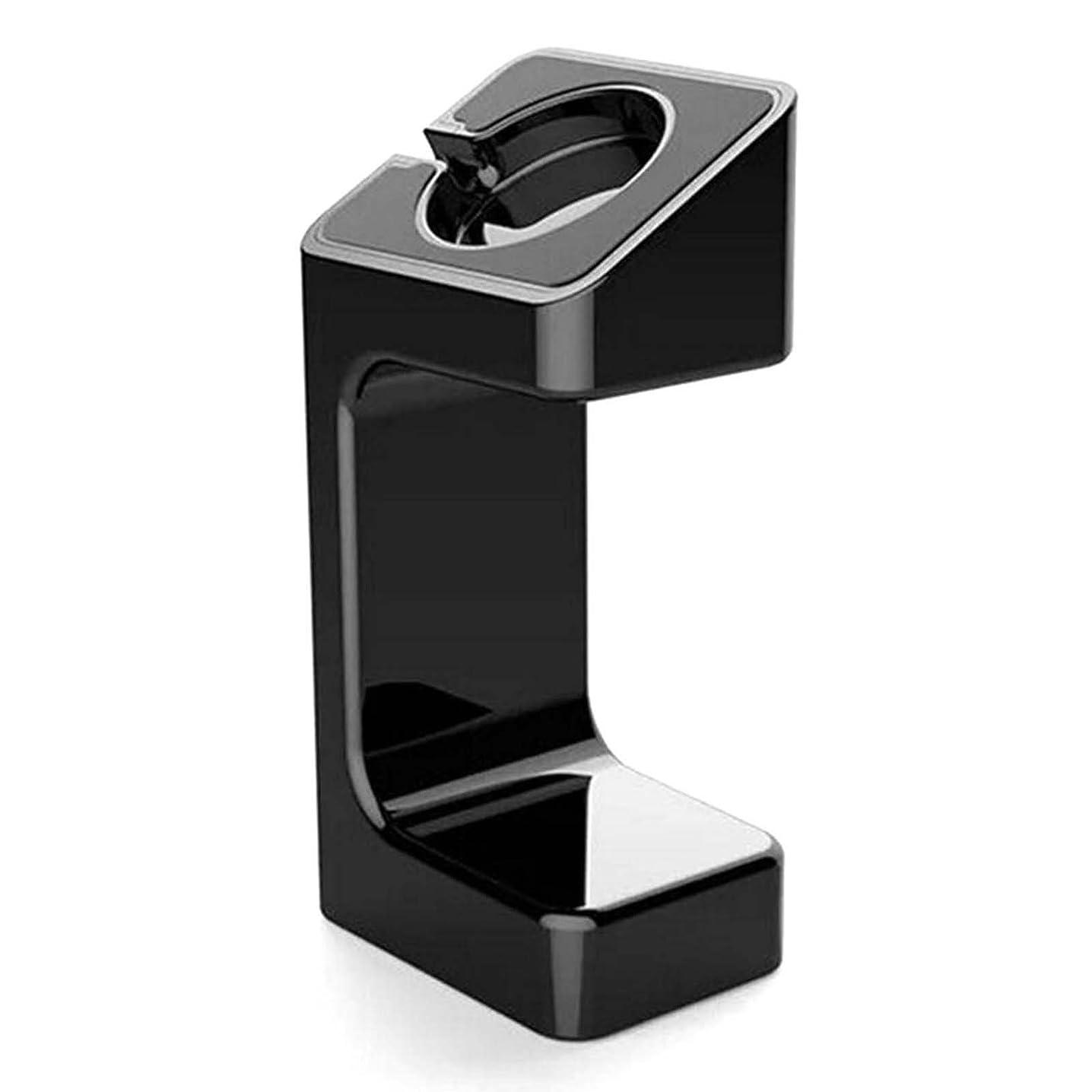 恐ろしいもろい帽子Apple Watch用 充電スタンド iWatchディスプレイ マウント ?汎用 ホルダー ドック 両方 38 mm と 42 mm プラスチック 黒