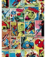 8247 壁紙 ウォールペーパー マーベル コミックス Marvel Comics 53cm x 1005cm [並行輸入品]