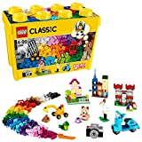 LEGO Classic - Caja de ladrillos creativos grande, Set de Construcción con ladrillos de colores, Juguete Creativo y...