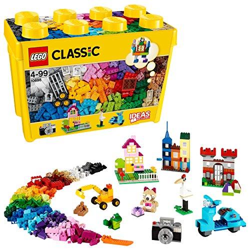 LEGO 10698 Classic CajadeLadrillosCreativosGrande,JuegodeConstrucciónparaNiñosyNiñasa Partir de 4años