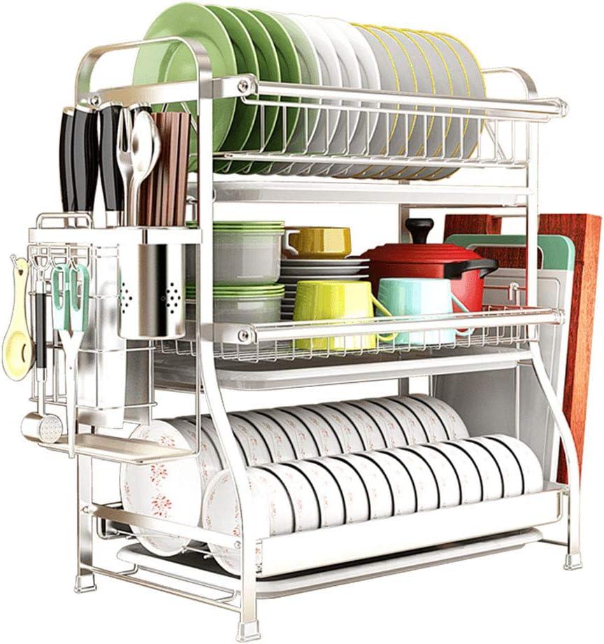Boston Mall GXT Kitchen Shelf 304 Stainless Drain Stora Dish Steel Rack Department store